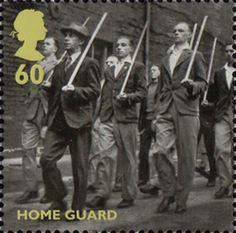 Britain Alone 60p Stamp (2010) Home Guard