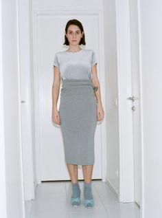http://www.chicedition.com/baserange-sahar-skirt-greymelange.html