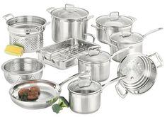 ScanPan Impact Stainless Steel Cookware Set - 10 Piece