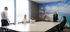 Spread across 4 levels, the #CapeTown office space provides 115 offices and 370 workstations.