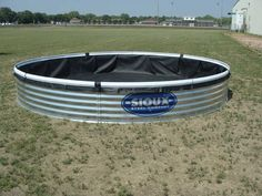 Bottomless Stock Tank WITH LINER - 15` x 25`` - 5 sections - 2,668 gallons