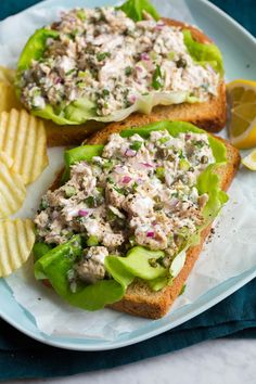 The best Tuna Salad! Made in minutes with basic ingredients like canned tuna, mayo and bright lemon. It's an easy, staple recipe! Best Tuna Salad Recipe, Easy Tuna Salad, Avocado Tuna Salad, Easy Salad Recipes, Easy Salads, Healthy Recipes, Eat Healthy, Fruit Salads, Vegetable Salad