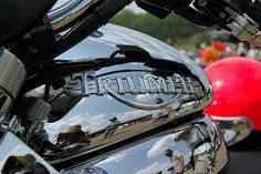 Triumph Tank and Logo by FlashyThingy, via Flickr