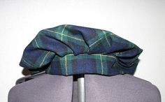 Medieval Renaissance Green and Navy Plaid Wool by ThisandThatPark, $25.00