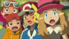 Pokemon Ash And Serena, She Was Beautiful, Cartoon, Cute, Anime, Fictional Characters, Twitter, Heart, Kawaii