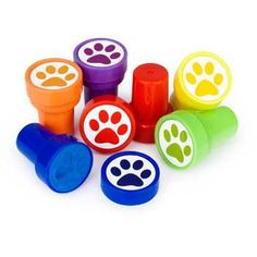 Paw Print Stamper (6-pack) - Boys Parties & Party Supplies