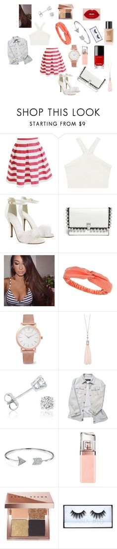 """WORK!!"" by maggiehoeser on Polyvore featuring BCBGMAXAZRIA, Proenza Schouler, Dorothy Perkins, Larsson & Jennings, Oasis, Amanda Rose Collection, Versace, Bling Jewelry, HUGO and Bobbi Brown Cosmetics"