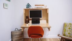 HOW TO: FOLD-UP WALL DESK — Crafted Fairly