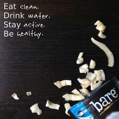 It's the simple secret to our success. Guess it's not a secret anymore #snacksgonesimple #livebare #snacksimple #behealthy #stayactive #drinkwater #eatclean #nongmo #locoforcoco #fruitchips