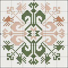 Free Cross Stitch Pattern - Icelandic Motif with birds Biscornu Cross Stitch, Free Cross Stitch Charts, Cross Stitch Freebies, Cross Stitch Pillow, Cross Stitch Borders, Cross Stitch Designs, Cross Stitching, Cross Stitch Patterns, Folk Embroidery