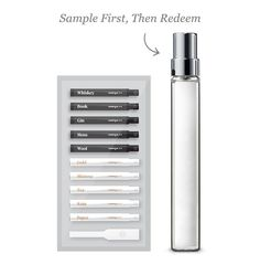 Try At Home | Commodity $24 — Fitting Kit (10 mini scents) — 1 x 10ml Scent of your choice.