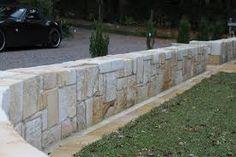 beautiful sandstone retaining wall - Google Search