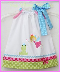 Custom Super Sweet Fairy Princess Whimsy Dress by weewhimsycouture, $24.00