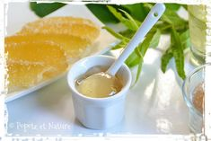 confit de cédrat à la verveine citronnelle © Popote et Nature