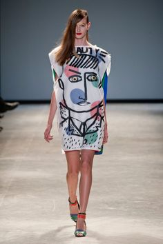 Défile Jean-Charles de Castelbajac, prêt-à-porter printemps-été 2014, Paris. #PFW #Fashionweek #runway