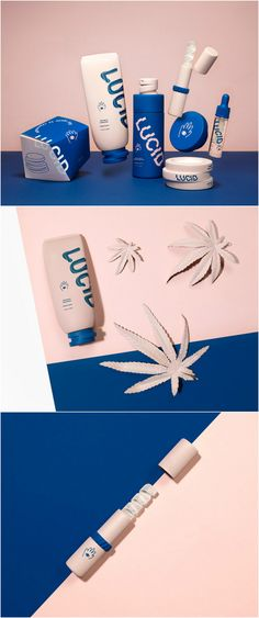 Unisex Cannabis Infused Skincare from the USA Designer: Angela Pak Project Name: LUCID a cannabis skincare line Location: USA Category: World Brand & Packaging Design Society⠀ Skincare Logo, Skincare Packaging, Brand Packaging, Beauty Packaging, Packaging Design, Brand Identity Design, Branding Design, Cosmetic Logo, Design Palette