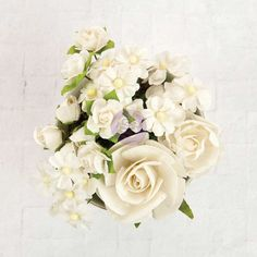 Prima Marketing Bouquet Mix Flowers-hollybrook