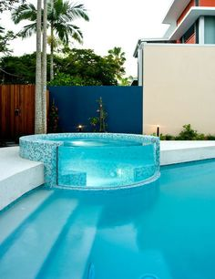 Outdoor Pool Designs That You Would Wish They Were Around Your House 18