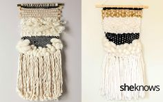 Make your own Anthropologie-inspired wall hanging for just $20
