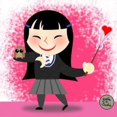 Cho Chang was a Ravenclaw student at Hogwarts and little Harry Potter's first crush. Before dating Harry, Cho Chang dated Cedric Diggory, but their rela. Cho Chang, Harry Potter Fan Art, Mischief Managed, Ravenclaw, Hogwarts, Minnie Mouse, Witch, Geek Stuff, Deviantart
