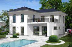 Informieren Sie sich hier über das Einfamilienhaus City Villa 4 von allkauf, Ihrem Anbieter für Fertighäuser und Ausbauhäuser. Unterm Strich mehr Haus!