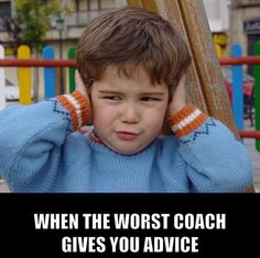 We've all had one coach who you didn't L I K E getting wrestling advice from.   It happens❗️  #Coaching #Wrestling #BadAdvice #GoodAdvice