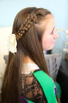 One of the most amazing channels on youtube for hair 4-Strand Slide Up Braid | Cute Girls Hairstyles