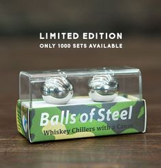Balls of Steel - Military Edition - Whiskey & Sprit Chillers…