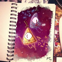 Just draw • My sketchbook alive! I think this is my last art...