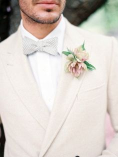 100 Bow Tie Groom Looks To Get Inspired | HappyWedd.com