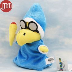 """Find More Movies & TV Information about New Super Mario Magikoopa Kamek Plush Toy Glass Tortoise Stuffed Animal 7"""" Little Buddy Kids Gift Anime Brinquedos Baby Dolls,High Quality toy doll baby,China toy dolls history Suppliers, Cheap doll gift from M&J Toys Global Trading Co.,Ltd on Aliexpress.com"""