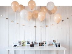 Personalize your grad party with crafts such as photo booth props, balloon decorations, table centerpieces and more. Browse our graduation party ideas.