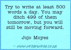 Quotable - Jojo Moyes - Writers Write Creative Blog