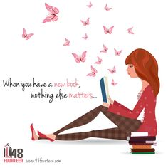 When you have a new book, nothing else matters.