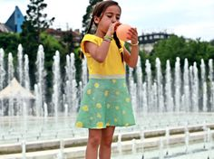 Girls linen dress/Summer flare dress/Toddler girl linen clothing/Linen clothes/Summer fashion dress/Kids summer dress/Casual going out dress