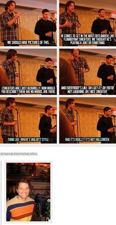 (gif set) Misha's Sweaters