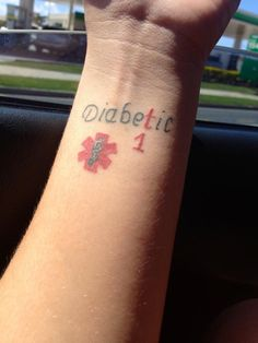 Type 1 Diabetes tattoo