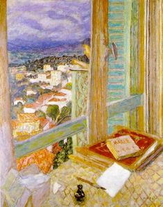 The Window (1925) at the Tate Gallery, London ~ Pierre Bonnard (1867-1947)