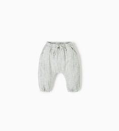 HAREM TROUSERS-DRESSES AND TROUSERS-MINI | 0-12 months-KIDS | ZARA United Kingdom