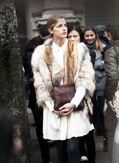 i want some (real vintage) fur.  don't hate me. amanda brooks