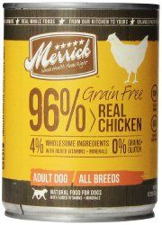 Merrick Grain Free Real Chicken Dog Food, 13.2 Ounce Can, 12 Count Case