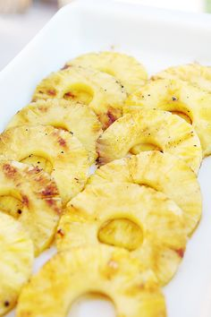 "Grilled Pineapple with Brown Sugar Glaze.....would this be like ""Carnaval Brazilian Grill""?"