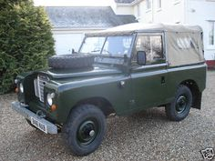 Land Rover Series III before coming to the states