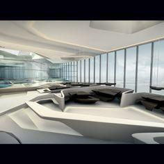#Zaha Hadid. The Opus Dubai Building