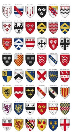 640px-The_Surrey_Roll_of_Arms_(aka_Willement's_Roll)_-_Shields_410-457.jpg (640×1192)