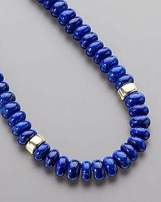 Wunderschönes Lapis-Collier von Sogni d´oro #schmuck #jewelry #Edelsteine #sognidoro #sogni #doro #kette #necklace