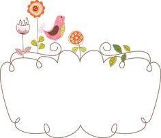 Frames e molduras 3 - Minus Printable Frames, Printable Designs, Eid Crafts, Lace Background, Foto Transfer, Borders And Frames, Floral Border, Letter Art, Cool Fonts