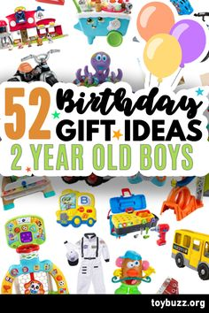 These 50+ Birthday Gifts for 2 Year Old Boys are gonna be amazing for our kids' birthday parties!! I can't believe you can see all of the coolest gifts for 2 year olds birthdays all in one place. 2 Year Old Birthday, 50 Birthday, 50th Birthday Gifts, Birthday Gifts For Women, Birthday Parties, Cool Gifts, Best Gifts, Top Toys, Milestone Birthdays