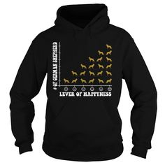 Lever Happiness Of German Shepherd - German Shepherd Lovers  #funnyshirts #awesomeshirts #germanshepherd #germanshepherdshirts German Shepherd Shirts Pets Lever Happiness Of German Shepherd