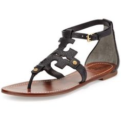 Tory Burch Phoebe Sandals NWT. Paid $270. Do not lowball. Was sent wrong size. I will sell for $160 on Merc. Tory Burch Shoes Sandals